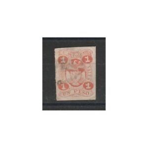 Colombia 1867 Armoiries 1 Pesos 1 Val D'Occasion MF58482