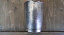Antique Circa 1710 18th Century SOLID SILVER Snakeskin Wine Beaker Cup Nuremberg