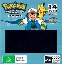 Pokemon Master Quest Complete Season Series 5 Super Wallet TV Show DVD NEW OOP
