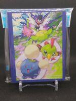 Pokemon center JAPAN - Jumpluff Natu Skiploom Card Deck Shields (64 Sleeves)