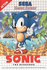 Spiel SEGA Master System - Sonic The Hedgehog