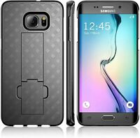 For Samsung Galaxy S7 Edge Case Armor Belt Clip Holster Phone Cover + Kickstand