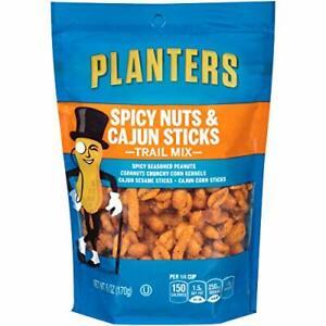 Planters Spicy Nuts & Cajun Stick Trail Mix (6 oz Pouch)