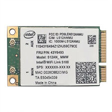 Intel WIFI Link 5100 PCI-E Card 802.11A/G/N for Lenovo G450S G430A Y450 Y430