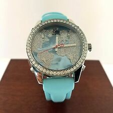 Jacob & Co Five Time Zone Blue Dial Diamond Watch MSRP $23,900.00