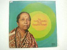 GANGUBAI HANGAL  VOCAL KHYAL SINGER RAGA AHIR BHAIRAV RAGA MARWA RARE LP ex