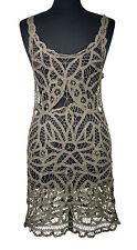[24 99] Free People Intimately Women's Olive Sleeveless Sheath Dress size XS