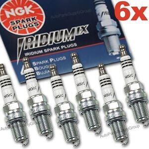 6 x NGK Iridium IX Spark Plug Set > BCPR6EIX > Supra Turbo- 7MGTE SAAB JAPAN