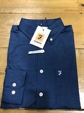 FARAH® Drayton Oxford Shirt/Night Sky (Teal) - Large  New AW19