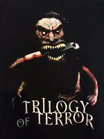 Trilogy Of Terror Exclusive T-Shirt Zuni Doll Horror Demons Gore Devil