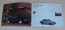 1991 Daihatsu Brochure