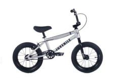 """2022 CULT Juvénile 14 INCH Vélo BMX Complet Mat Argent 14 """" Taille S Enfants"""