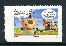 STAMP / TIMBRE FRANCE  N° 4093 ** SOURIRES AVEC LES VACHES / AUTOADHESIF