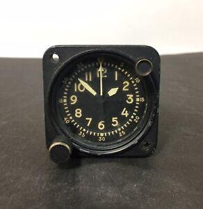 Waltham Precision Aircraft 8-Day Clock