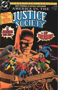 DC America vs The Justice Society 1  1985