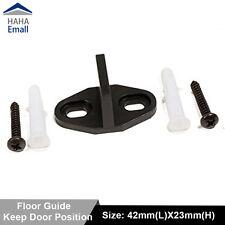 Sliding Barn Door Hardware Door Bottom Guide/ Floor Guide Plastic with Screws