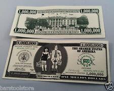 ONE MILLION DOLLARS BILL CLINTON MONICA LEWINSKY SEX DOLLAR BILLS lot of 10