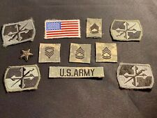 Us Army Uniform Patches Military Velcro