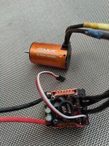 RC Brushless Motor Regler Combo 80A 1/10 1/8 3800KV BL 3660