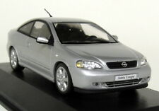 Minichamps 1/43 Scale - Opel Astra G Coupe Silver - Diecast Model Car