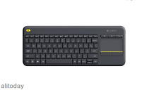 Logitech Wireless Touch Keyboard K400 Plus with Built-In Touchpad PC TV