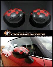 MINI R55 R56 R57 R58 R59 R60 R61 TAPPO vivido rosso specchio copre per piega manuale