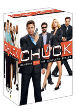 Chuck: Complete Zachary Levi TV Series Seasons 1 2 3 4 5 Boxed DVD Set NEW!
