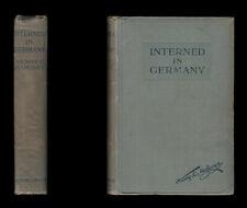 Mahoney INTERNED in GERMANY 1914-1915 - RUHLEBEN British CIVILIAN DETENTION CAMP