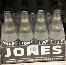 Jones Soda cream soda clear 12 pack 355ml/12oz cane sugar never expired Canada