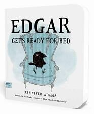 """Edgar Gets Ready for Bed: A BabyLit Board Book: Inspired by Edgar Allan Poe's """"T"""