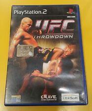 UFC Throwdown GIOCO PS2 VERSIONE ITALIANA