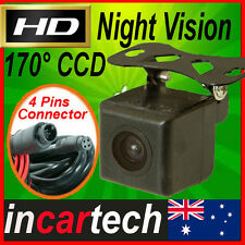 Universal HD CCD 4pins Connector Car Rear View Reversing Backup Camera Wide 170