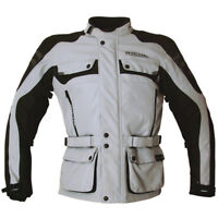 RICHA Textile jacket - ADVENTURE style Grey MOTORCYCLE JACKET Size S Only