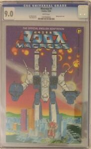 (1984) Comico MACROSS #1 CGC 9.0! 1st ROBOTECH! MOVIE COMING!