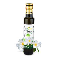 Certified Organic Cold Pressed Tea Seed / Camellia oleifera Oil 250ml Biopurus