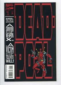 Deadpool The Circle Chase #1 Vol 1 Near Perfect High Grade