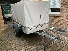 Pkw Anhänger Stema 750kg mit Spriegel und Plane