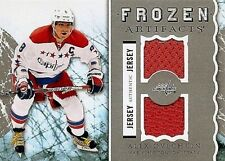 ALEXANDER OVECHKIN 2012-13 UD ARTIFACTS FROZEN ARTIFACTS DUAL GAME USED JERSEYS
