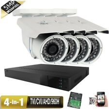 4C 00004000 H 5-in-1 Dvr 5Mp 4-in-1 9-22mm Lens Security Camera System Outdoor Tvi Ahd 8Hg