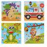 Animaux Puzzle En Bois Éducatif Apprentissage Toys Pour Enfants Cadeaux Jouet