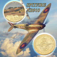 WR Spitfire Fighter Aircraft Model Commemorative Coin As Collectible Gifts