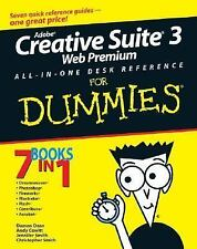Adobe Creative Suite 3 Web Premium All-in-One Desk Reference For Dummi-ExLibrary