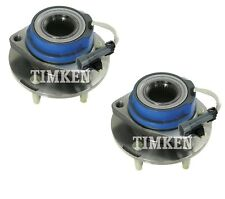 Pair Set of 2 Front Timken Wheel Bearing Hub Kit for Chevy Buick FWD 4Wheel ABS