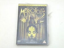 METROPOLIS - FRITZ LANG - 2 DVD SPECIAL EDITION ZONA 2 PAL - NUOVO/NEW D1