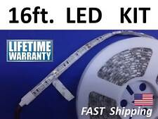 Premium Quality LED Lights  5m 16ft SMD 5050 roll - WHITE - with POWER & Remote