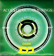 Acoustic Guitar Strings (12 - 53) Phosphor Bronze Wound UK