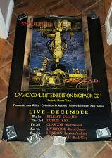 Sepultura - Chaos AD UK & Ireland Tour Poster - Rare Vintage Collectors Cavalera