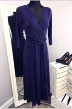ASOS Blue Wrap Dress BNWT Size 10