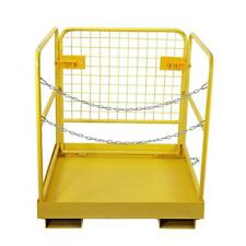 """Heavy Duty Forklift Safety Cage Steel Work Platform 749 lb. Capacity, 36""""x36"""""""