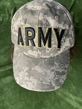 U.S. Army Camouflage Baseball Cap Official